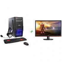 "PC Gamer PC Mix Gamer Extreme Intel Core i5 - 6ª Geração 8GB 1TB + Monitor Gamer AOC LED 24"""