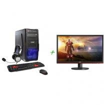 "PC Gamer PC Mix Gamer Extreme Intel Core i5 - 6ª Geração 8GB 1TB + Monitor LG LED 19,5"""