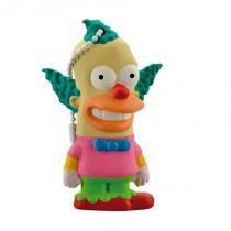 Pd074 multilaser pendrive 8gb simpsons krusty - Bandai