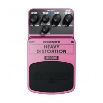 Pedal Behringer HD300 para Guitarra - Rosa - BEHRINGER