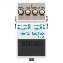 Pedal de Guitarra Boss Tera Eco TE-2 - Ambiência Estéreo e Processamento Multidimensional - Boss