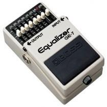 Pedal Equalizador para Guitarra - Boss GE-7