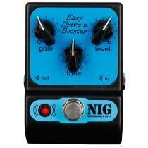 Pedal Nig PED Easy Drive e Booster com Bateria de 9V - Nig