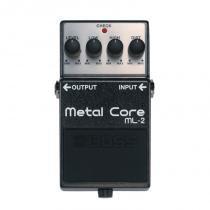 Pedal para Guitarra Boss ML-2 com Efeito Metal Core de Distorção - Boss
