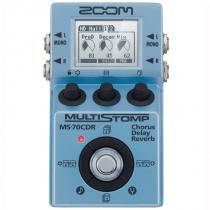 Pedal para guitarra zoom ms 70cdr chorus/delay/reverb - Zoom
