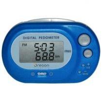 Pedrômetro Oregon PE320 Display LCD - Cálculo de Distância Relógio