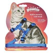 Peitoral Pawise com Guia para Gatos -