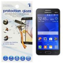 Película Protetora de Vidro Lisa para Smartphone Samsung Galaxy Core 2 Duos G355M Protecction Glass - ADIBRAS