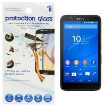 Película Protetora de Vidro Lisa para Smartphone Sony Xperia E4 Protecction Glass - ADIBRAS