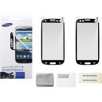 Película Protetora Samsung para Galaxy S3 ETC-G1G6BEGSTD Borda Preta - Preta -