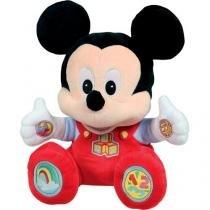 Pelúcia Disney Baby 32 cm Mickey Divertido - Emite Sons Dican
