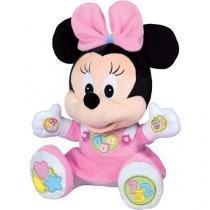 Pelúcia Disney Baby 32 cm Minie Divertida - Emite Sons Dican