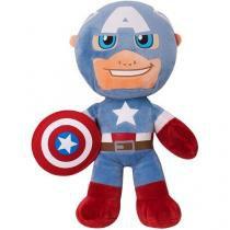 Pelúcia Marvel Capitão América 53 cm - Buba Toys