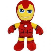 Pelúcia Marvel Homem de Ferro 34cm - Buba Toys