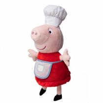 Pelúcia Peppa Pig Chef 38 cm - Estrela -