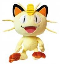 Pelúcia - Pokemon 8 - Meowth - Dtc - e8ef40a4fbc53