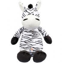 Pelúcia Zebra Selva Animada - Buba