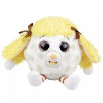 Pelúcia - Zigamazoo Série 2 - Olhos Brilhantes e Mostra a Língua - Amarelo  com branco bc187200befb5