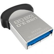 Pen Drive 128GB SanDisk Ultra Fit USB 3.0 Até 10x Mais Rápido