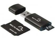 Pen Drive 16GB Multilaser MC112 - Adaptador SD