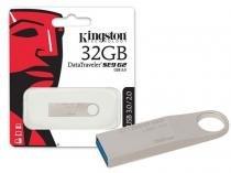 Pen Drive 32GB USB 3.0 Kingston DTSE9G2/32GB Datatraveler SE9 G2PRATA -