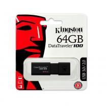 Pen Drive 64gb Usb Kingston Datatraveler 100 Generation 3  BPN-024 -