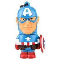 Pen Drive 8GB Multilaser Marvel Avengers - Capitão América