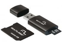 Pen Drive 8GB Multilaser MC058  - Adaptador SD