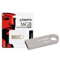 Pen Drive Kingston 16GB Datatraveler SE9 USB 2.0 Prata -