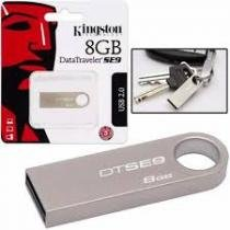 Pen drive  kingston 32gb datatraveler se9 usb2.0 prata -
