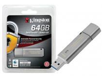 Pen Drive Kingston 64GB DATATRAVELER 64GB LOCKER+ G3 USB 3.0 DTLPG3 CRIPTOGRAFIA -