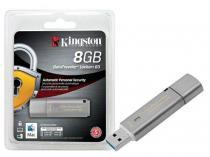 Pen Drive Kingston 8GB DATATRAVELER 8GB LOCKER+ G3 USB 3.0 DTLPG3 CRIPTOGRAFIA -
