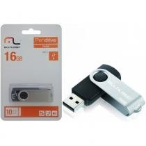 Pen Drive Multilaser Twist PD588 16GB Preto -