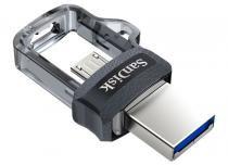 Pen Drive SanDisk p/ Smartphone Ultra Dual Drive MicroUSB / USB 3.0 64GB SDDD3-064G-G46 -