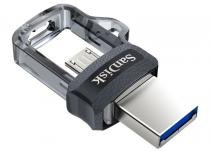 Pen Drive SanDisk Ultra Dual Drive MicroUSB USB 3.0 16GB - SDDD3-016G-G46 -
