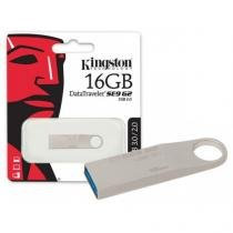 Pen drive usb 3.0 kingston dtse9g2/16gb datatraveler se9 g2 16gb prata int -