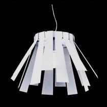 Pendente em Metal Branco Fosco P2935LWH - Markine Mobilier-Bivolt - Bivolt - Pier Iluminação