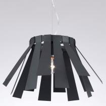 Pendente em Metal Preto Fosco P2935LBK - Markine Mobilier-Bivolt - Bivolt - Pier Iluminação