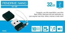 Pendrive 32gb Preto Pd055 - Multilaser