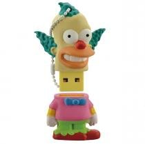 Pendrive Simpsons Krusty 8Gb Usb 2.0 Multilaser -