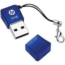 Pendrive Usb 2.0 32Gb Azul V165w P-Fd32gbhp165-Gel Hp - Hp - hewlett packard
