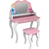 Penteadeira com Espelho Pura Magia - Princesas Disney Star