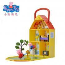 Peppa Pig - Casa Com Jardim - Dtc -