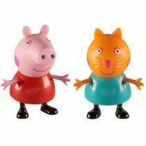 Peppa Pig E Seus Amigos Coleção Pim Pam Pum - Peppa + Candy - Estrela