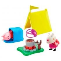 Peppa Pig Hora De Comer - Acampamento - DTC -