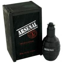 Perfume Arsenal Black 100ml - Gilles Cantuel