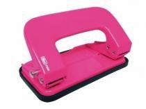 Perfurador 2 Furos 10 Folhas P200 Rosa Neon - Tilibra -
