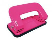 Perfurador 2 Furos Para 10 Folhas P200 Rosa Neon Tilibra - 1