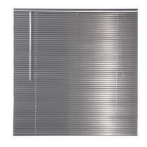 Persiana Horizontal em Alumíno 25MM 1,00L X 1,40A - Cinza Metálica - EverBlinds