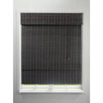 Persiana para Home Office/Quarto/Sala Marrom - Romana Bambu 120x160cm - Topflex Persianas